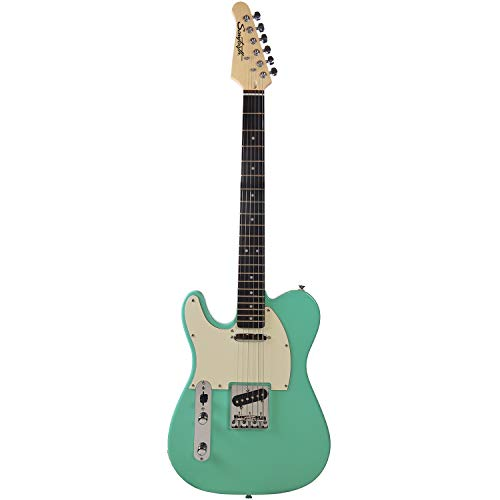 - Sawtooth Classic ET 60 Ash Body Electric Guitars (Guitar Only, Left-Handed Surf Green)