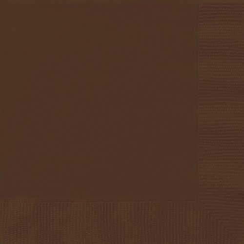 Brown Paper Napkins, 20ct (Napkins Thanksgiving Lunch)