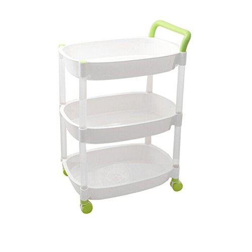 office trolley cart. SUNLIGHTAM 3 Tier Kitchen Basket Shelving Trolley Cart Storage Racks On  Wheels Bathroom Bedroom Office Holder Office Trolley Cart