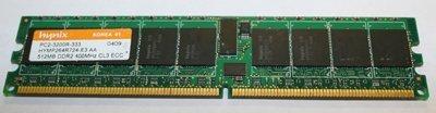 (Hynix HYMP264R724-E3 512MB DDR2 400MHZ PC2-3200 240-PIN ECC REGISTERED CL3 DIMM MEMORY)