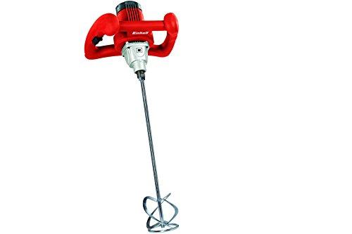Einhell Farb Mörtelrührer TC-MX 1400 E (1400 Watt, Drehzahlregelung, M14-Aufnahme, Mörtelrührer, 2 Gabelschlüssel)