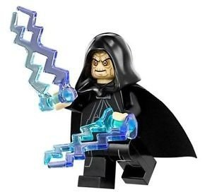 Lego Star Wars Emperor Palpatine Minifigure Exclusive 75093