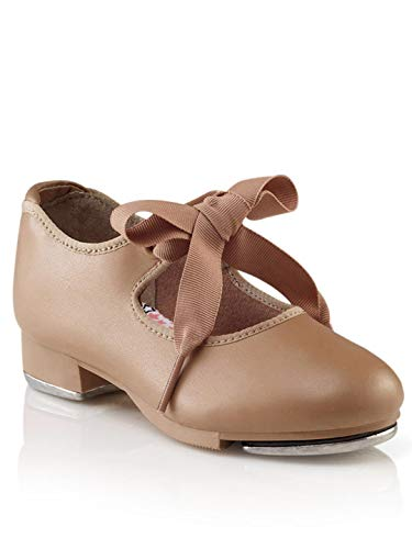 Capezio Jr.Tyette N625C Tap Shoe (Toddler/Little Kid),Caramel,13 M US Little Kid