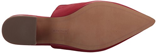 Steve Madden Red Leather Women's Simone Sneaker RZZ7q