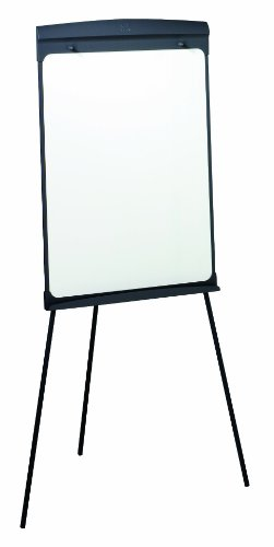 Quartet Easel, Magnetic Whiteboard/Flipchart, 27'' x 35'', 70'' Tall, Graphite (67E) by Quartet
