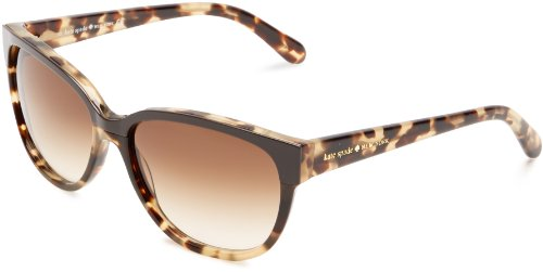 Kate Spade Women's Brigis Cat-Eye Sunglasses,Camel Tortoise,55 - Sunglass Case Kate Spade