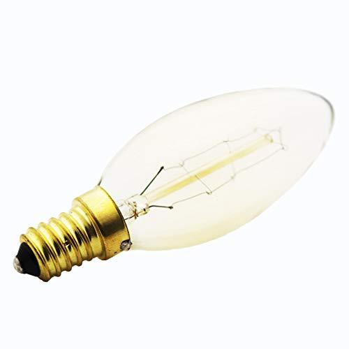 glow bombilla 10X Lámpara De Tungsteno Regulable 40W G35Carbon Art Estilo Antiguo Bombillas Blanco Cálido E14 220V Bombillas Halógenas De Iluminación Bombillas