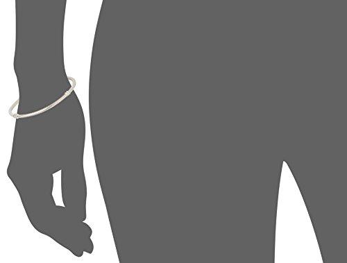 "Pandora Women's Genuine Sterling 8.3 Bead Clasp Charm Bracelet 590702HV 21"", Silver"