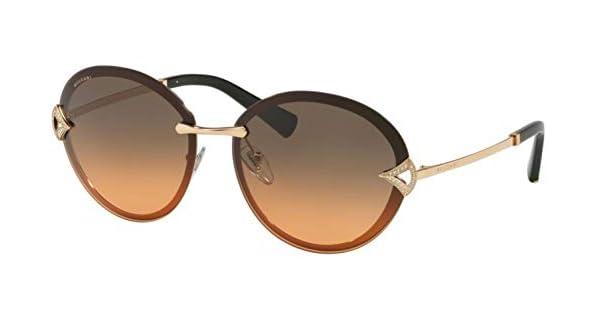 Amazon.com: Gafas de sol Bvlgari BV 6101 B 201418 color rosa ...