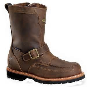 browning 10 quot side zip moc toe ranch