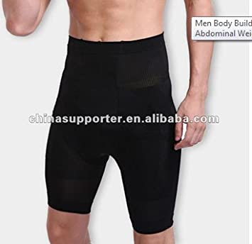 Men Forced abdomen high waist short Body Building Slimming Pants ...