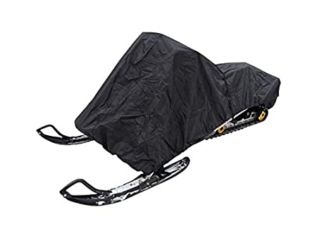 Advantage Snowmobile Cover for Storage and Short-Term Protection from rain and Snow; fits Long Track sleds up to 127 Chassis Length