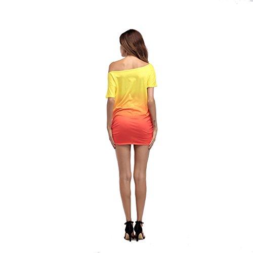 B Wang Donna Dimensioni colore M Sciolto Vestiti Da T shirt vpwOv