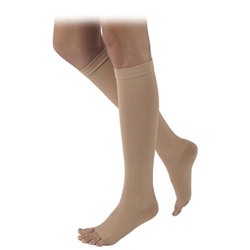 Sigvaris 503 Rubber Series Open Toe Knee Highs - 30-40 mmHg Full