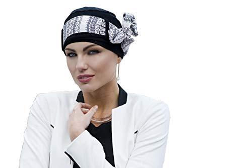 Masumi Headwear Yanna Black Linea - Hat Scarf Style Women Hair ()