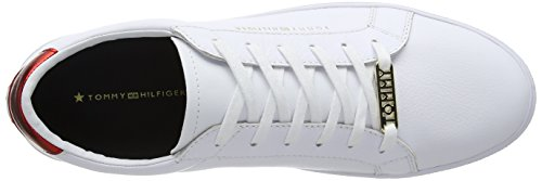 Rwb Tommy Basse da Scarpe Bianco Ginnastica Donna Essential Sneaker Hilfiger 020 HwHq7az