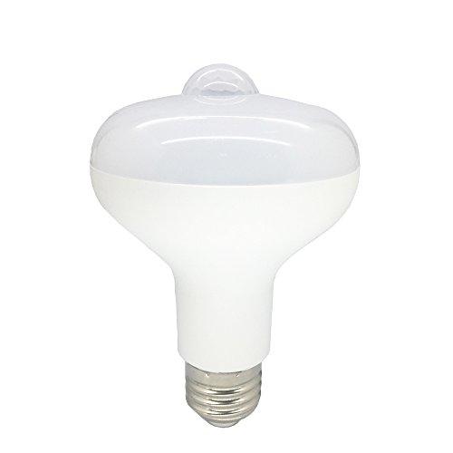 LED BR25 flood light bulbs Motion Sensor Light Bulb Auto On/Off PIR Infrared Sensor light bulb 9W(soft white)