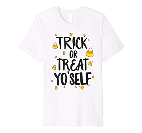 Trick or Treat Yo'self Halloween Shirt Funny Candy