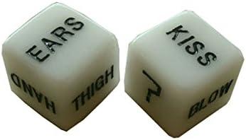 Demarkt Dados Sexuales de los Dados Parejas de Adultos Divertido de los Dados del Juego fijó para Jueguete Adulto para Amor / Parejas Regalo, Juego de 2: Amazon.es: Juguetes y juegos