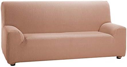 Martina Home Tunez, Funda elástica para sofá, color Salmón, medidas para 1 Plaza (70-110 cm)
