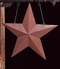 K&K Interiors Decorative Hanging Sign Tin Star Arrow Replacement