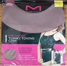 Amazon.com: Maidenform Firm Control Tummy Toning Cami, Sz Small, Spicy Bronze: Electronics