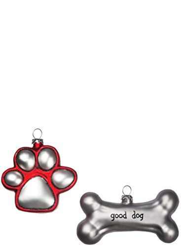 Dog Bone Ornament - 5