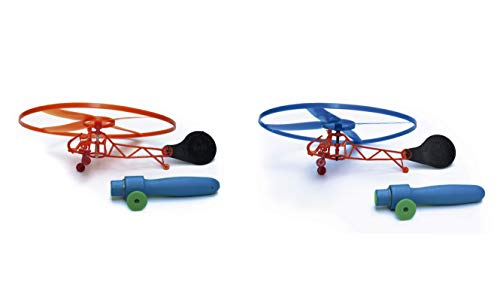 Toy Helicopter - Toddler Helicopter for Children - Kids Flying Helicopter Set - Indoors& Outdoors Party Favors - Great Gift Idea for Toddlers - Helicopter Goodie Bag Filler for Kids]()