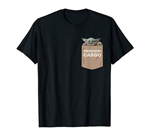 Star Wars The Mandalorian The Child Precious Cargo Pocket T-Shirt