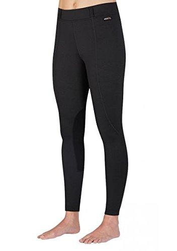 Kerrits Fleece Flow Rise Performance Tight Black Size: 2X