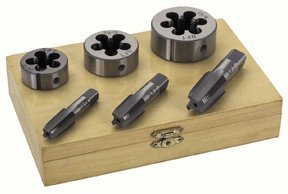 Harbor Freight Tools 6 Piece Pipe Tap & Die Set