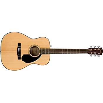 Fender CC -60S Concert Acoustic Guitar - Natural Finish