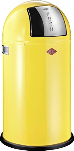 WESCO 175 831-19 - Cubo de la Basura, 50 l, Color Amarillo