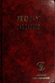 (Holy Bible-Placed by The Gideons)