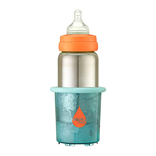 Innobaby Aquaheat Stainless Steel Baby Bottle and Travel Bottle Warmer Set. BPA Free.