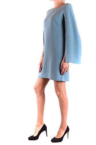 Elisabetta Mujer Franchi Viscosa Azul Vestido Ezbc050138 Claro fqOTrxfEw
