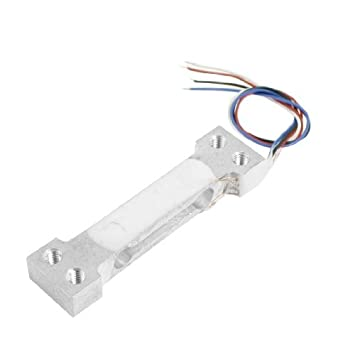 Aleación de aluminio de la celda de carga sensor de pesaje 500 g Capacidad: Amazon.es: Hogar