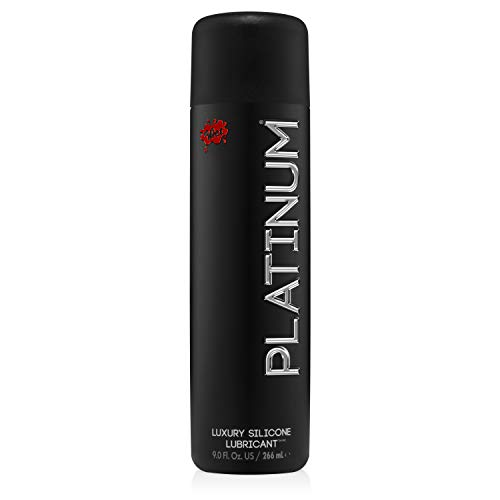 Wet Platinum Lube - Premium Silicone Based Personal Lubricant, 8.9 Ounce (Best Way To Use A Pocket Pussy)