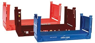 Herpa 076579 - Accessories: Flat Container, - Container Herpa