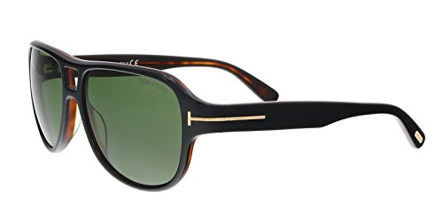 Tom Ford Sunglasses TF 446 Dylan 05N Black - Sunglasses Ford Tom Square