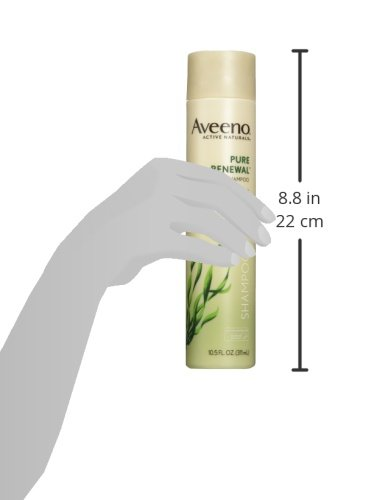 Aveeno Active Naturals Pure Renewal Shampoo and Conditioner Set, 10.5 Fluid Ounce each by Aveeno (Image #3)