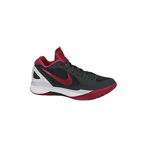 9011f97287c0ca Nike Women s Volley Zoom Hyperspike Black Red Metallic Silver White  Volleyball Shoes - 9.5 B(M) US (B00FEUQRNU)