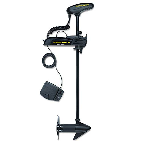 "Minn Kota 1358745 Pontoon Powerdrive 54_BT Trolling Motor with Bluetooth (54-lb Thrust, 48"" Shaft)"