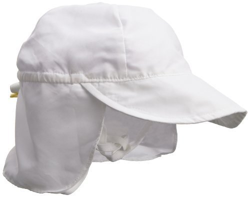 i play. Baby Unisex Solid Flap Sun Protection Hat UPF 50+ by i play.