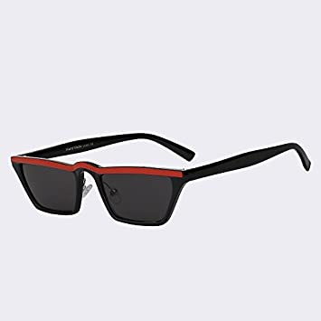 TIANLIANG04 Sonnenbrille Frauen Männer von Brillen Fashion zurück Sonnenbrille Vintage Pilot Stil von hoher Qualität UV 400, Schwarz mit Rosa Spiegel