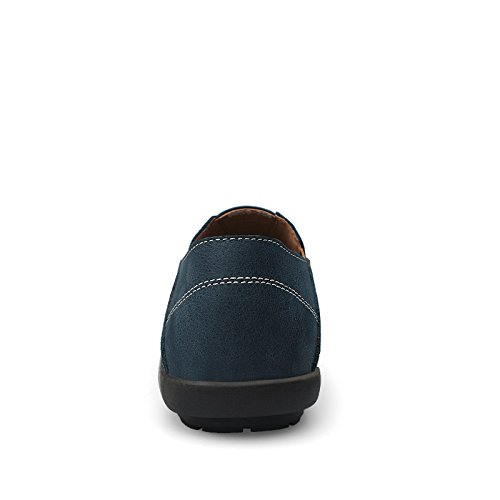 Casual Shoes Driving Slip on 99888 Blue Smart Sneaker Loafers Mens Comfort Stylish CFP C8XwqAPx