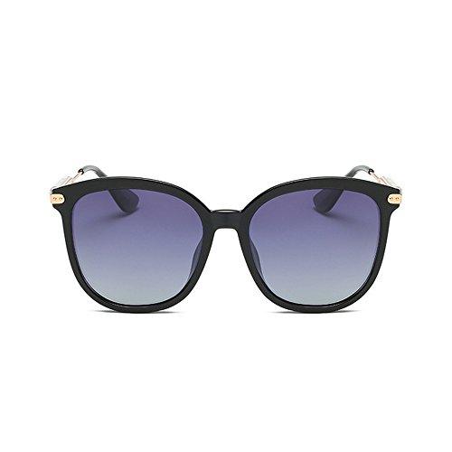 Personalidad Full Gray Gafas para TR90 señora GWF La de Color Eyes UV Conducir Polarized Cat de Protección Sol Plata Lens la dRwwPqt