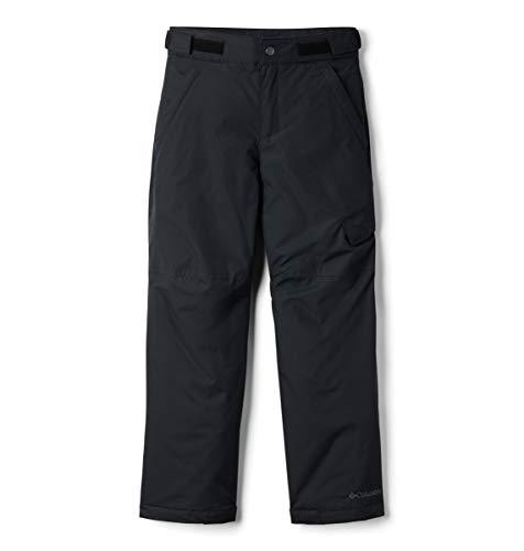 Columbia Boys' Kids Ice Slope II Pant, Black, Medium (Best Kids Snow Pants)
