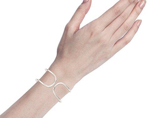 Libertini bracelet argent 925 femme serti de