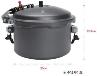 Snowline Pressure Rice Cooker 2 3 People Portable 805g